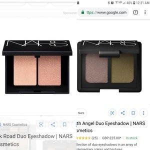 2 Nars Duo Eyeshadow